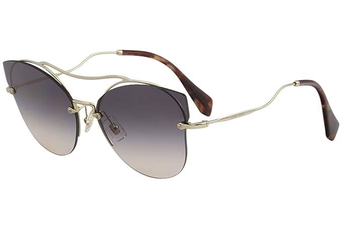 09ed561fcb Miu Miu Women s 0MU52SS ZVNGR0 62 Sunglasses