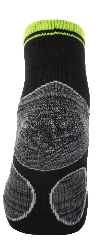 Punta e Tallone Rinforzati 46 Altezza Caviglia in Cotone Spugna Poligono Calze da Lavoro Uomo Misure 40