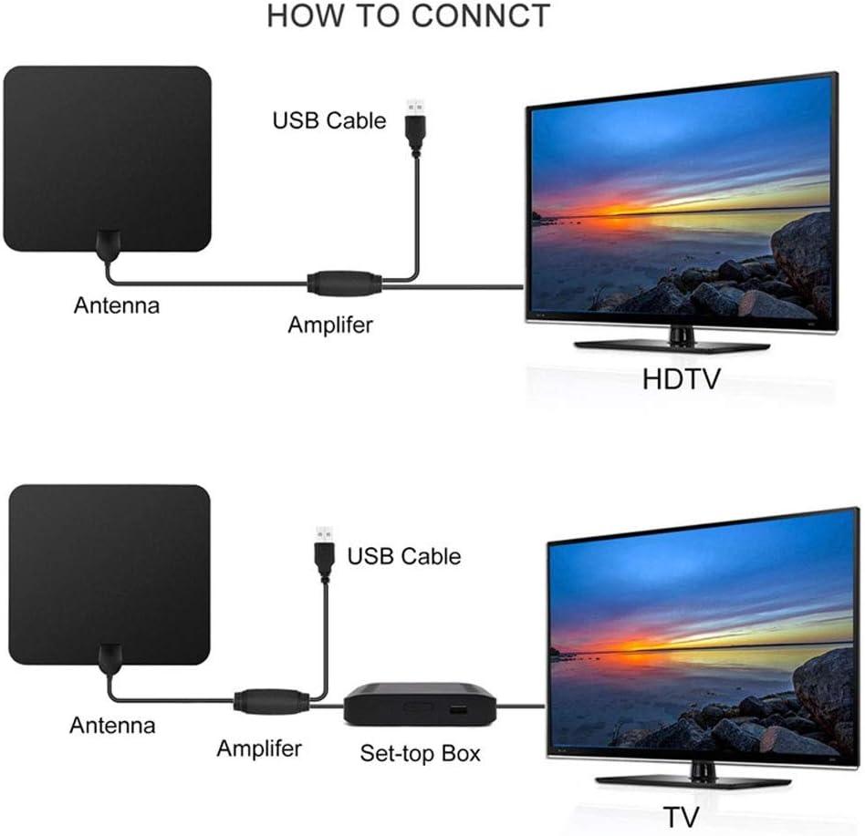 BangHaa Antena HDTV HD más nuevo antena de TV digital Versión ...
