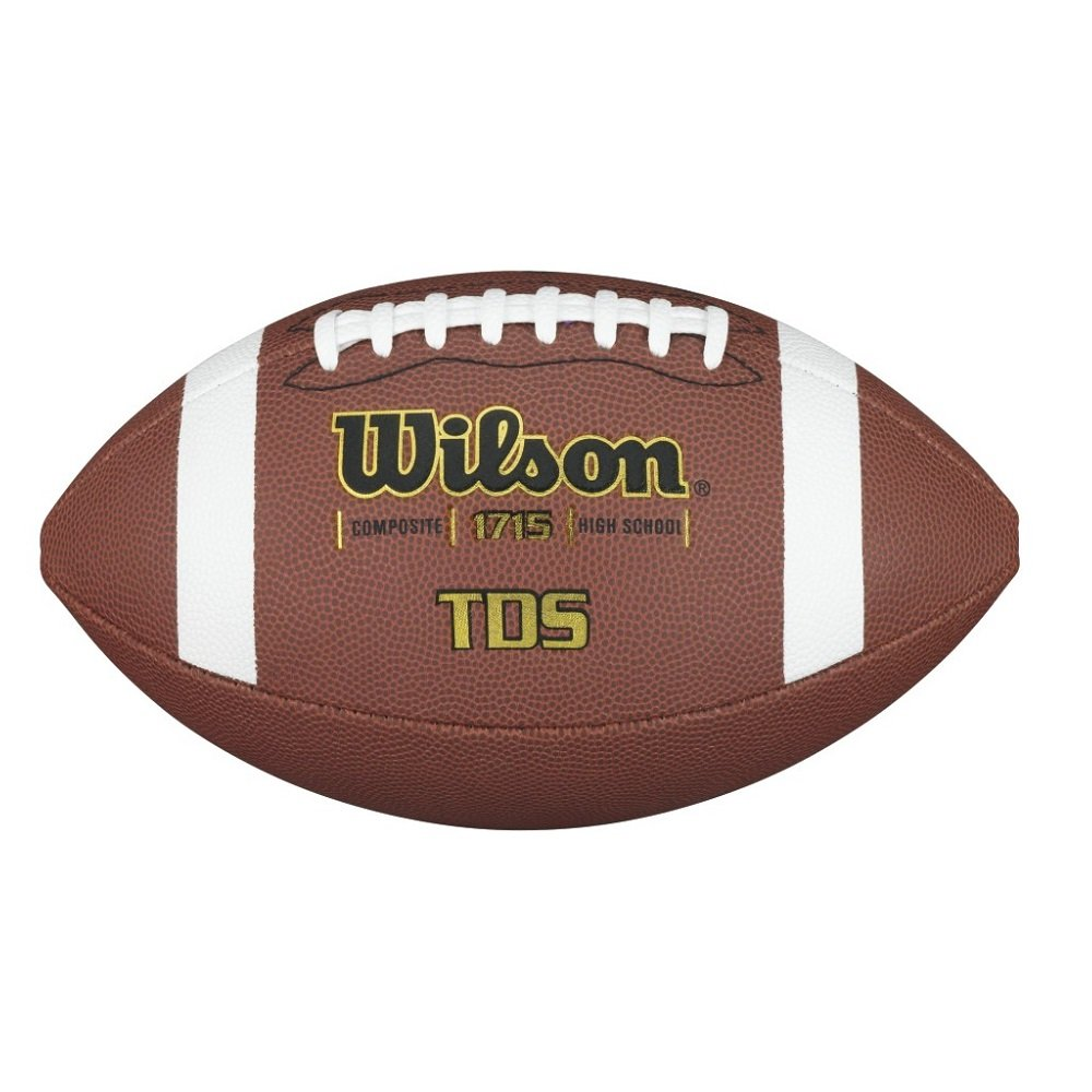 Wilson TDS Composite Piloflex Superskin Official Football, Brown