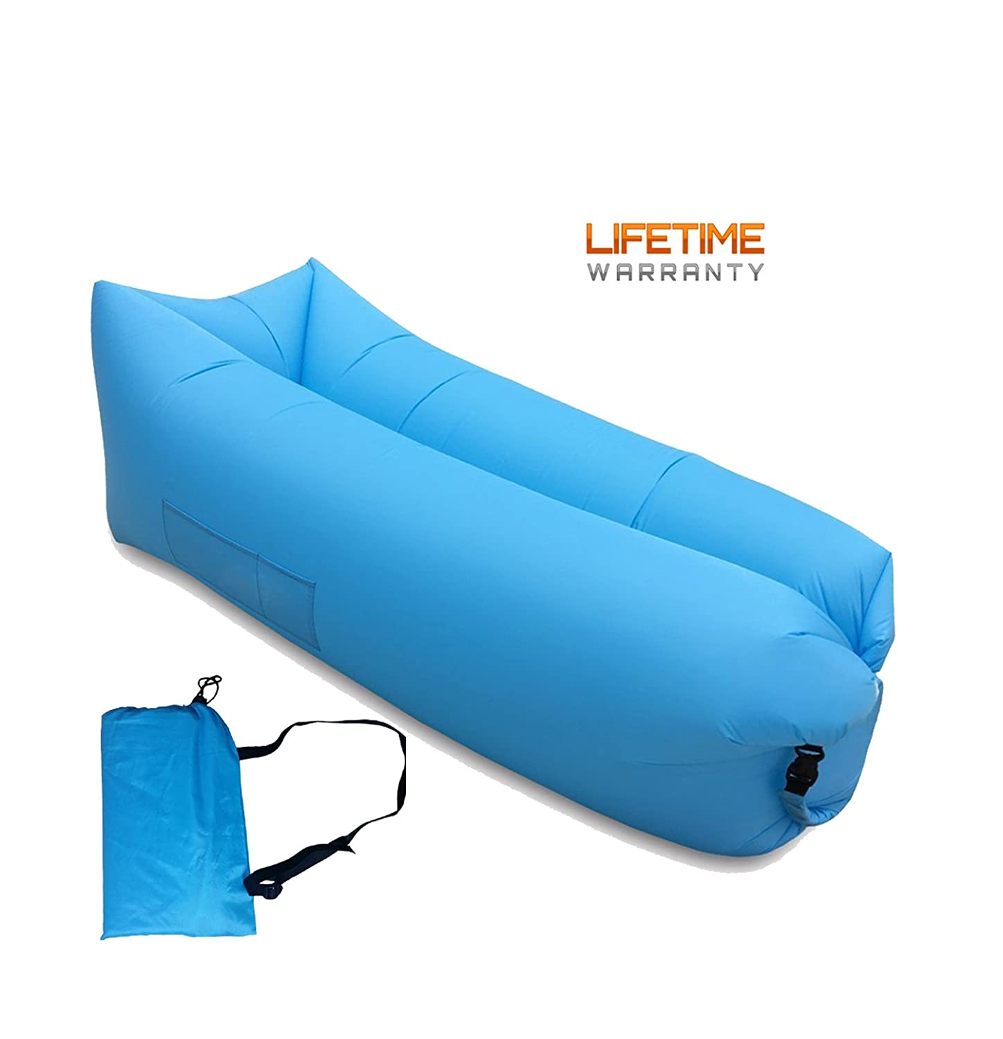AIWOTOWOW Portable Waterproof Inflatable Air Lounger Lounge Beach Sofa Dream Chair