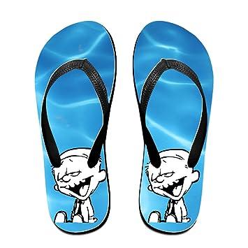 Shehe Calvin Hob Tiger Unisex Summer Beach Flip-flops Thong Sandals