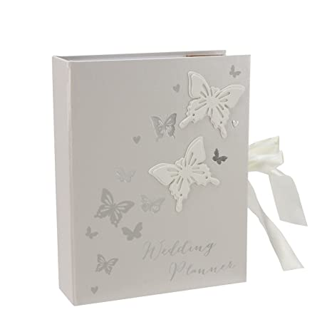 Butterfly Wedding Planner Organiser gift by Amore: Amazon.es ...