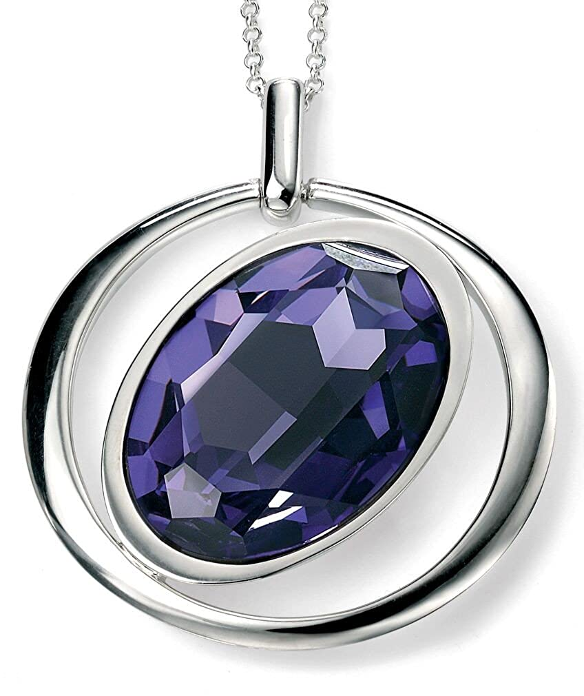 My-jewellery 925 Silver Crystal pendant necklace 20 51