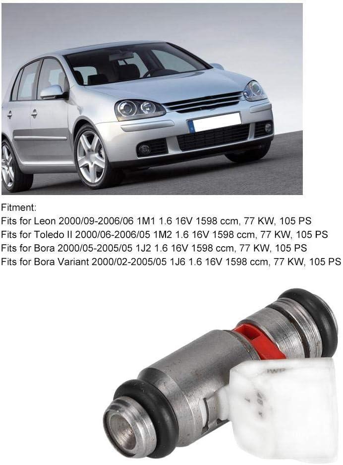 Hlyjoon Auto Car Iniettore Ugello IWP123 Sostituzione Olio Ugello Benzina Iniettore Carburante Ugello per Ugello Adatto per Toledo II 2000-2006