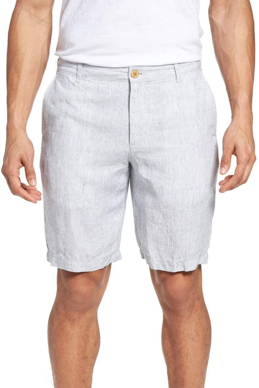 Tommy Bahama Men's Shoreline Stripe Shorts Spray 40W x 10L