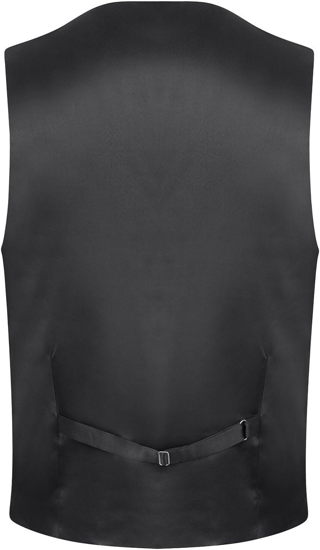 Tweed Fleck Marrone Gilet in Misto Lana Uomo