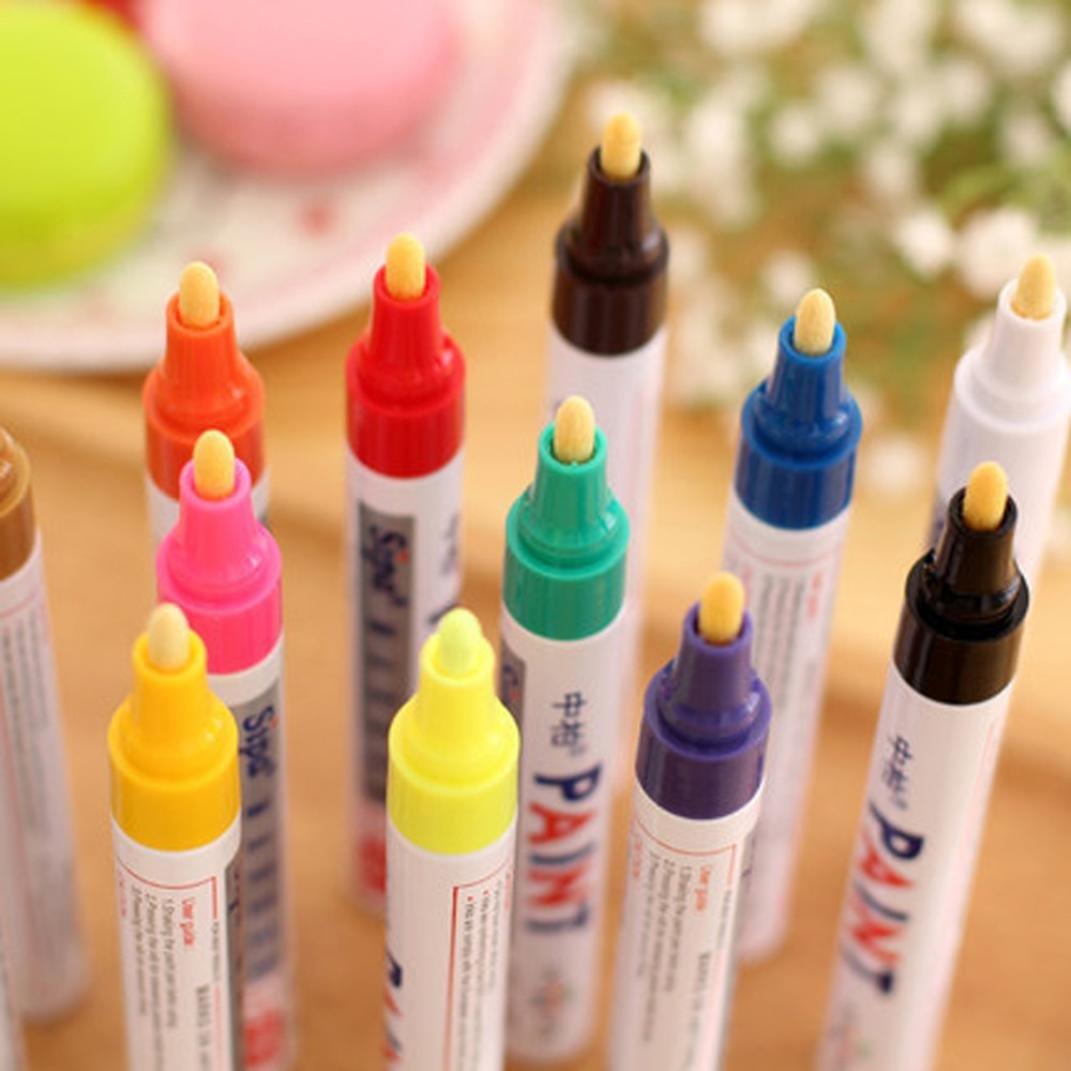 Green KFSO Paint Marker Pen Waterproof,Fine Paint Oil Based Art Pen,Premium Acrylic Paint Pen