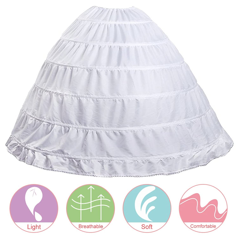b2e4c4e71c1d iphonepassteCK Crinoline Underskirt Skirts for Women Crinoline Petticoat  Ballgown for Wedding Dress, Pure White at Amazon Women's Clothing store: