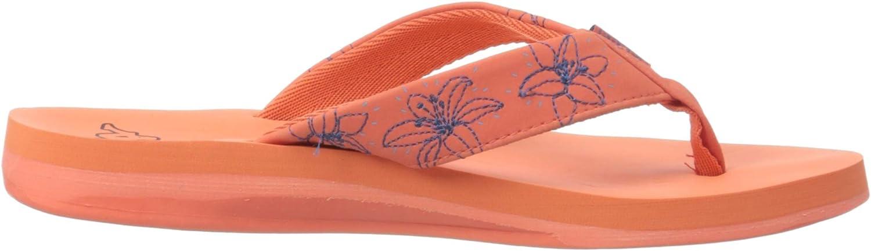 Kappa Lagoon, Tongues Femme Orange Coral Blue 2960