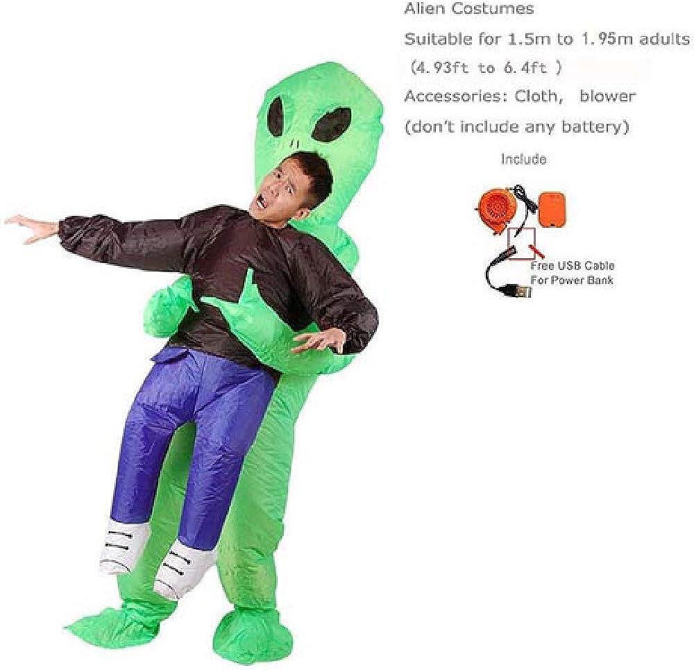 HOOXL Disfraz de Extraterrestre Inflable para Hombre Monstruo ...