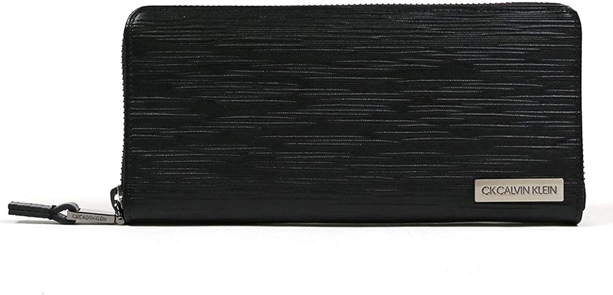 CK CALVIN KLEIN『長財布 ラウンドファスナー タットII(808617)』