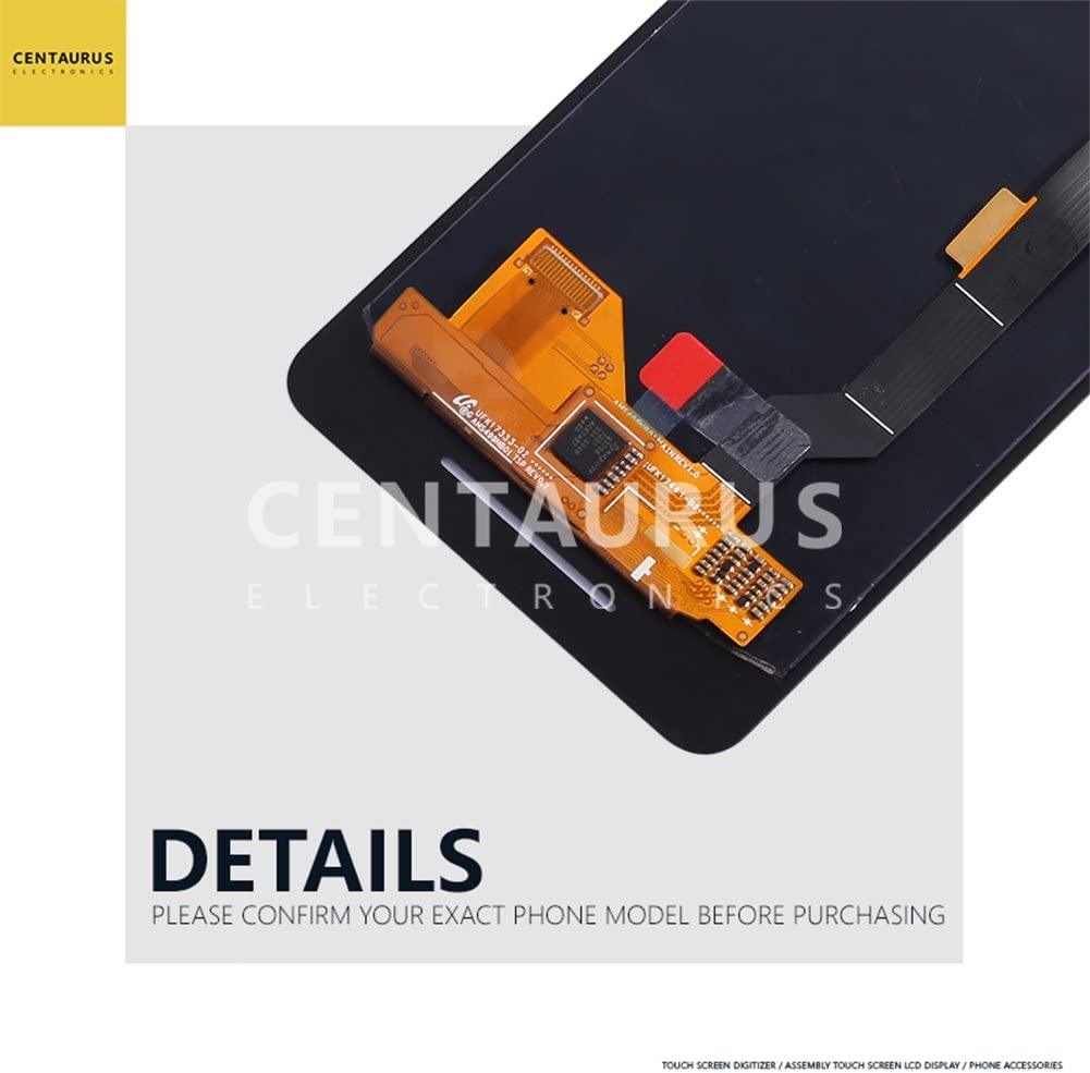 Black CENTAURUS Screen Replacement for Google Pixel 2 5.0 inch G011A LCD Display Touch Screen Digitizer Assembly Part Repair