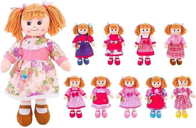 Bambola pezza di stoffa 50 cm