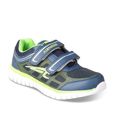 5ffc85a9b07 Airness Chaussures de Sport Bleu Enfants Chaussea  Amazon.fr ...