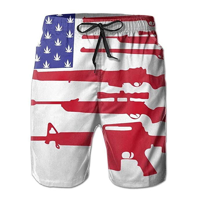 Pigeons Mens Classic Summer Boardshorts with Pockets