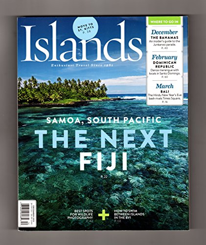Islands -Enthusiast Travel Since 1981. Dec., 2015. Samoa;Caribbean Hikes;Cambodia Bird-Watching;Tulum;St. Kitts;Junkanoo;Wildlife Islands;Santo Domingo;Black Truffles;Volcano Walk;BVI;Coquito