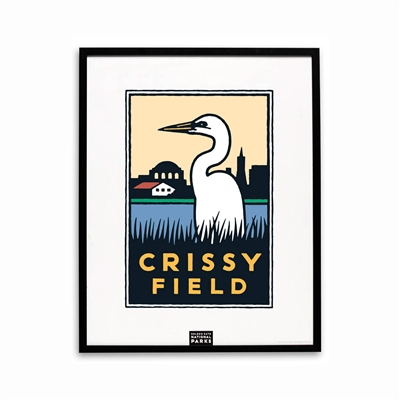 Framed Poster - Crissy Field
