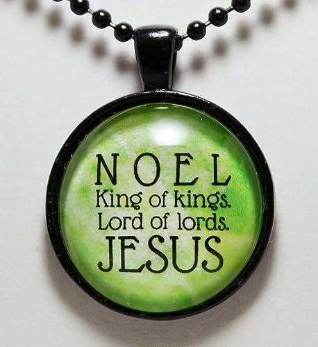 Image De Noel Jesus.Amazon Com Christmas Noel Jesus King Of Kings Pendant