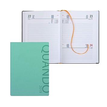 Agenda diaria memotak SDS 15 X 21 pb330 , color verde agua ...