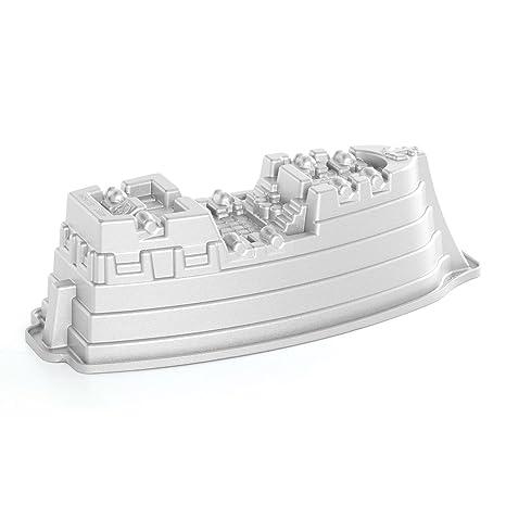 NordicWare 59237 - Molde para tartas, diseño de barco pirata