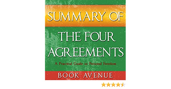 Amazon Summary Of The Four Agreements By Don Miguel Ruiz