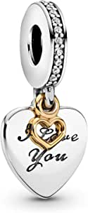 Pandora Women s Love You Forever Pendant Charm - Silver