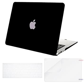 MOSISO Funda Dura Compatible MacBook Air 13 (A1369/A1466, Versión 2010-2017), Ultra Delgado Carcasa Rígida Protector Protector de Plástico & Cubierta ...