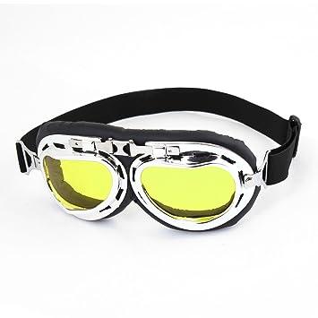 Sourcingmap Unisex Negras Gafas de Sol para Moto de Nylon ...