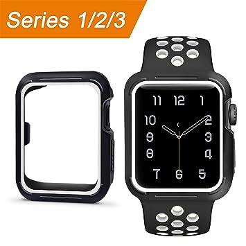 Funda Apple Watch, Todo Suave TPU Silicona Ultra Delgado ...