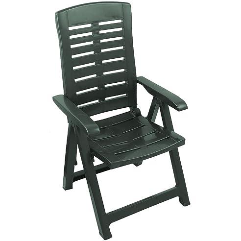 Gartenstühle kunststoff grün  Amazon.de: Klappbarer Gartenstuhl Klappstuhl Klappsessel ...