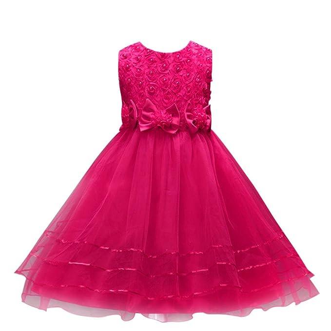 Kobay Hochzeit Kleid Blume Mädchen Prinzessin Brautjungfer Pageant Tutu Tüll Kleid Party