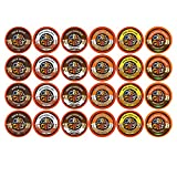 Crazy Cups Decaf Flavored Lovers Single Serve Cups for Keurig K Cups Brewer (24-Piece)