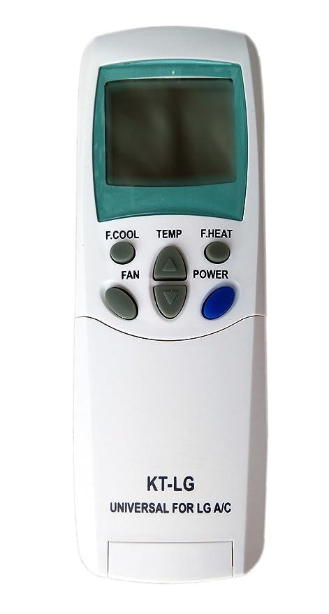 KT-LG - Mando a distancia para aire acondicionado inverter con bomba de calor LG