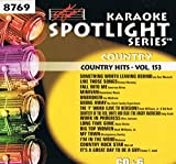 Sound Choice Karaoke Spotlight Series Country Hits Vol.153-8769
