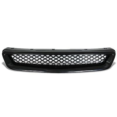 DNA Motoring GRL-HC96-TR-ABS Front Bumper Grille Guard: Automotive
