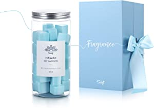 SOLIGT Wax Melts Air Freshener, Natural Scented Wax Cubes for Wax Melter, 15oz, Hawaii