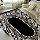 radhey home furnishing multicolor velvet carpet