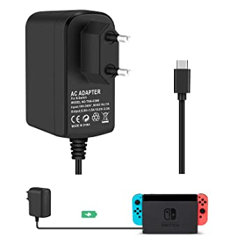 Cargador Adaptador para Nintendo Switch KINGTOP Conmutador ...