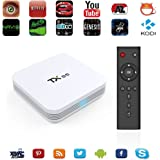Zenoplige TX95 Smart TV BOX Marshmallow Amlogic S905X Android 6.0 2/16G Kodi 16.1 Pieno Carico WIFI LAN Google Streaming Lettore Multimediale