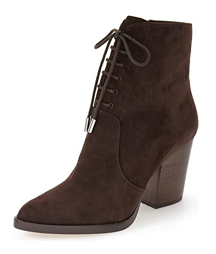 SHOFOO Marron ou Femmes Bottines Cuir synthétique QxedWorBEC