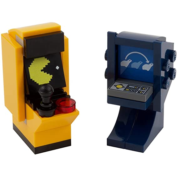 Retro style LEGO Arcade Includes printed tile Dance Machine NEW
