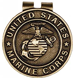 US Marine Corps Money Clip Military Money Clips for Men - Military Collectibles