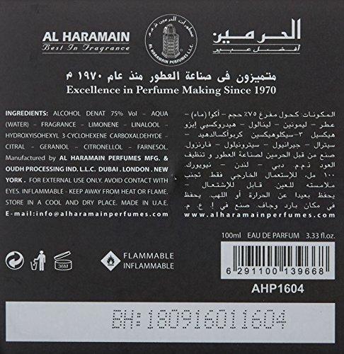 Al Haramain L'Aventure Eau de Parfum, 3.33 Ounce (100 ml) For Creed Aventus Lovers