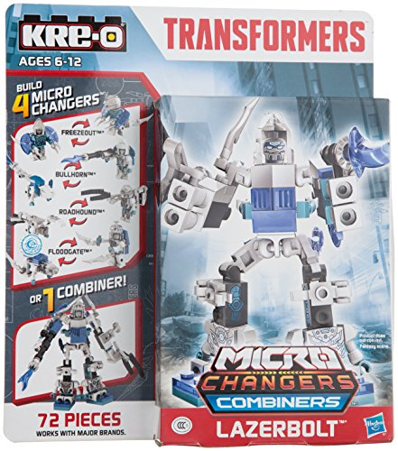 KRE-O Transformers Age of Extinction Micro-Changers Combiners Lazerbolt - Transformers Combiners Kreo