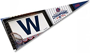 WinCraft Officially Licensed MLB Chicago Cubs 2016 World Series Champion Premium Pennant