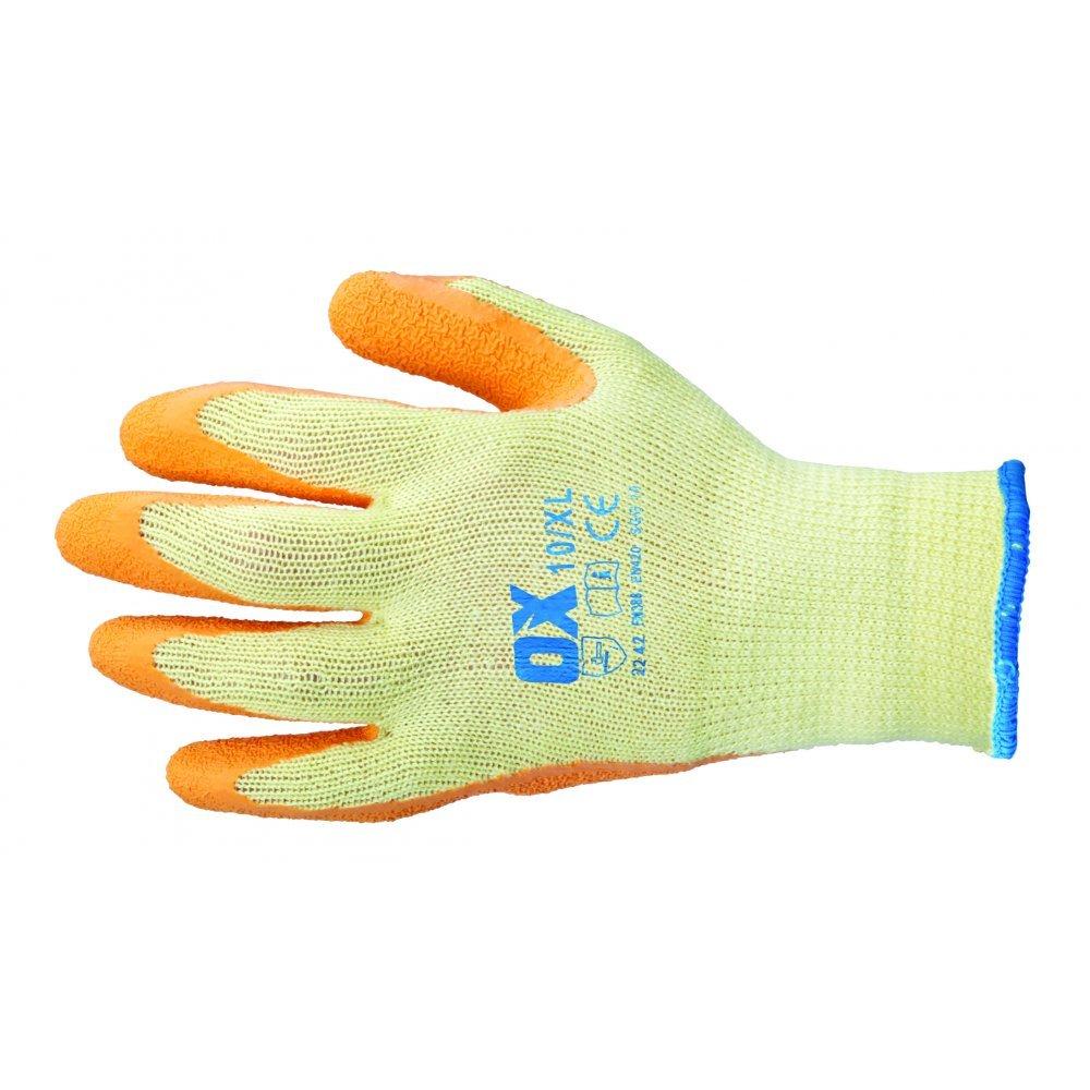 OX Latex Grip Glove Size 8 (Medium)