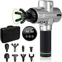 Hocety Electric 20 Speed Handheld Deep Muscle Tissue Massage Gun