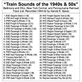Train Sounds of the 40s & 50s - Steam Locomotives