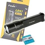 Bundle: 2015 Vers. Fenix LD41 960 Lumens CREE XM-L2 U2 LED Flashlight -Including a LumenTac AA Battery Organizer